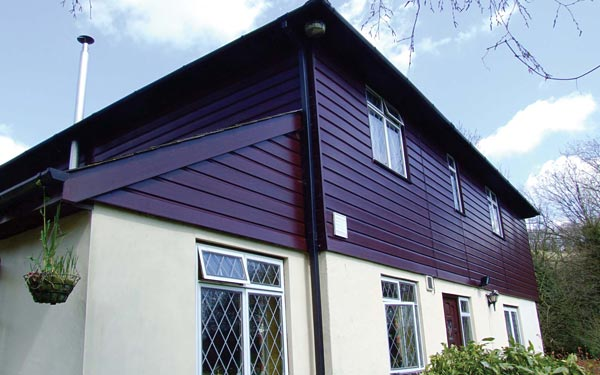 Purple cladding available