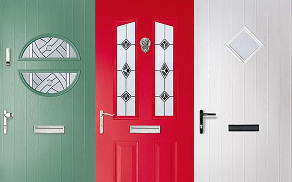 Selection of door colours