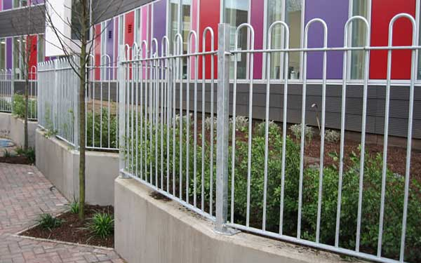Railings installed at schools